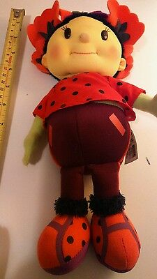 Poppy from Fifi and the flowertots soft doll
