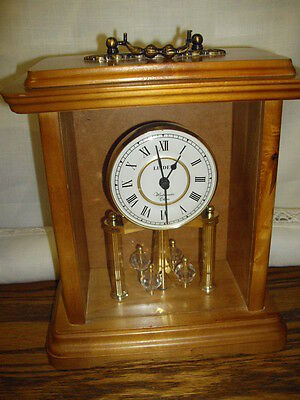 Linden Westminster Chime Mantel/table Clock