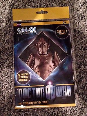 Loot Crate Exclusive Doctor Who CYBERMAN collectors construction figure series 1