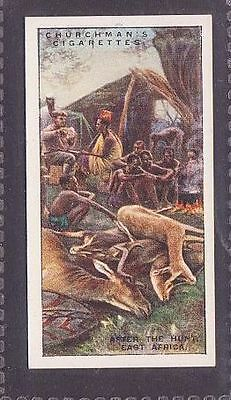 """From 25 """"Sports & Games in Many Lands"""" by Churchman 1929 no.5 After Hunt Africa"""