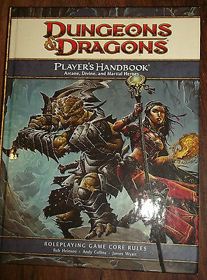 Dungeons and Dragons Book Players Handbook used Heavy Book