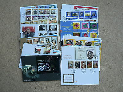 Isle of Man First Day Covers, Various, Sold Individually, 2002, 2003, No Address