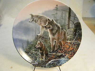 """"""" Ahead of the Pack"""" Collector Plate by Kevin Daniel"""