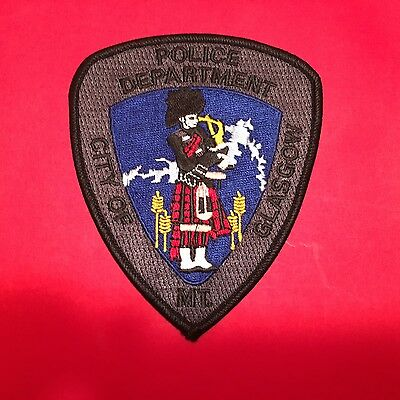 Glasgow Montana  Police   Shoulder Patch