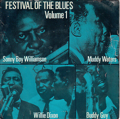 Various Festival Of The Blues Vol 1* 1963  Pye Ep