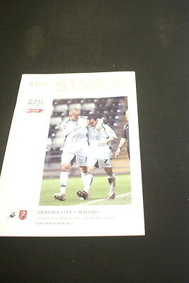 Swansea City v Walsall 12 March 2006