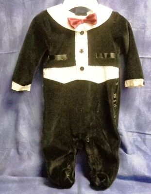 NEW Infant one-piece Romper TUXEDO with TAILS ~ MALE ~  3 months  RV $20