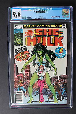 Savage SHE-HULK #1 Origin & 1st appear 1980 Marvel Jennifer Walters CGC NM+ 9.6
