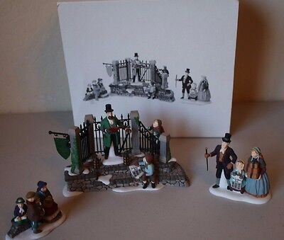 Department Dept 56 Dickens Village A Christmas Carol Reading by Charles Dickens