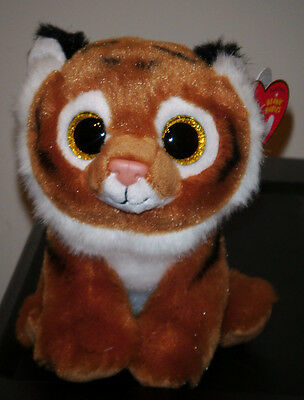 Ty Beanie Baby ~ TIGGS the Bengal Tiger ~ 2015 Release ~ NEW ~ IN HAND