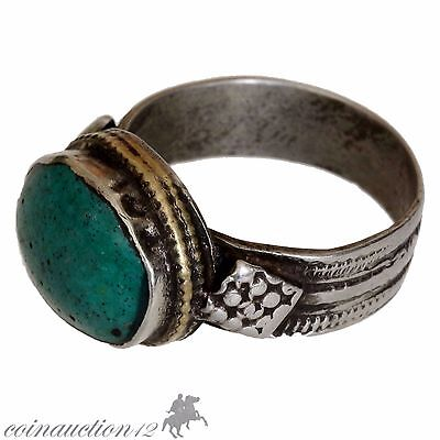 Stunning Near Eastern Late Medieval Silver Ring