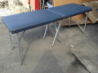 "Portable Treatment Exam Table Padded Folding 73"" x 24"" Military Issue New"