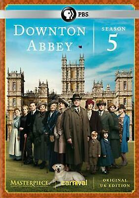 Downton Abbey:season 5 - DVD Region 1 Free Shipping!