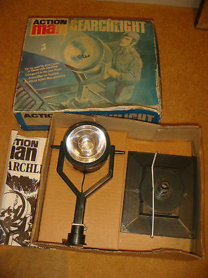 Vintage Palitoy Action Man Searchlight Boxed 1960s/70s