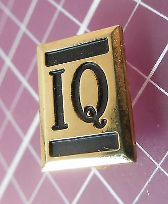 Vintage IQ Pin -  For The Smart Buyer!