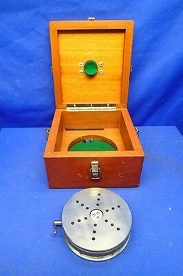 "ULTRADEX AA GAGE 5"" PRECISION OPTICAL ROTARY TABLE w/CASE"