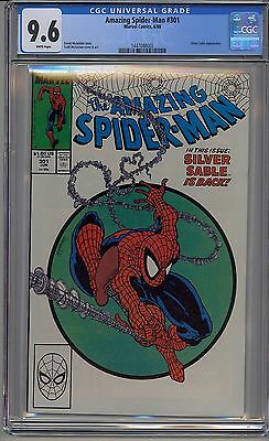 Amazing Spider-Man #301 Cgc 9.6 White Pages