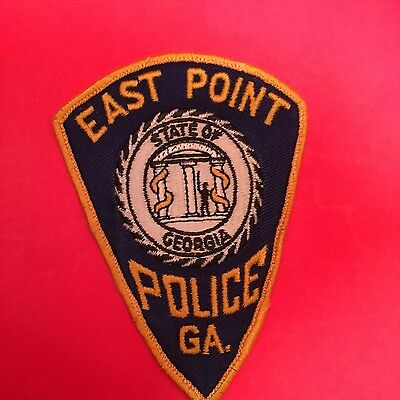 East Point Georgia Police   Shoulder Patch    Used