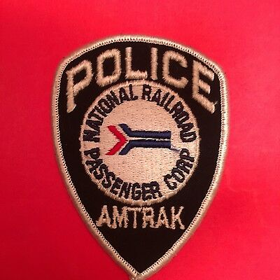 Mational Railroad Amtrack  Police Patch