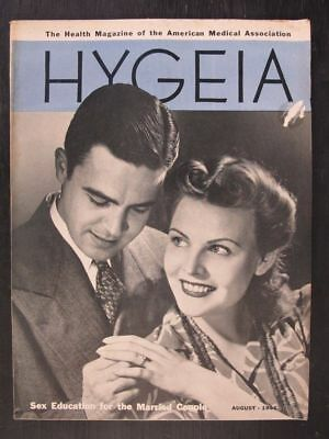 Hygeia Magazine August 1941 Sex Education for the Married Couple
