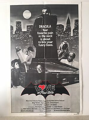 Original Dracula Love At First Bite Movie Film Poster 1979