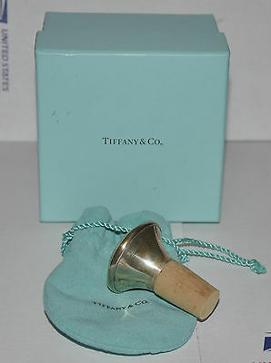 NEW Tiffany Sterling Silver Wine Bottle Stopper 925 Germany Grapes Free Shipping