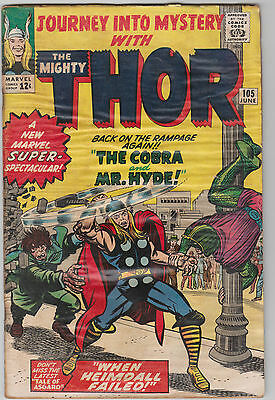 Journey into Mystery #105, Thor, Marvel Comics