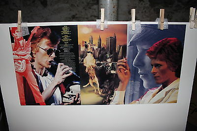 David Bowie Promo LP Flats  #1 and #2 Near Mint Condition