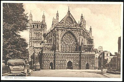 Postcard The Cathedral Exeter