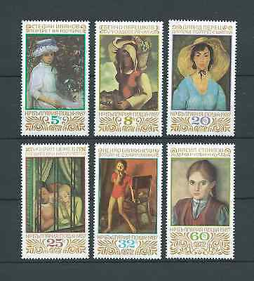 BULGARIE - 1987 YT 3116 à 3121 - TIMBRES NEUFS** LUXE