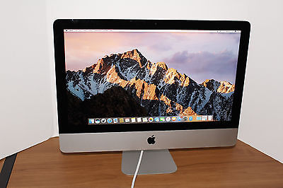 Apple iMac 21.5'' Core i5 2.7ghz 8gb Ram 1TB HDD Late 2013 Great Deal! Must See!