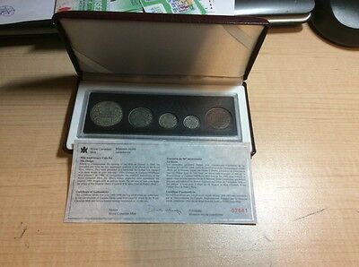 Canada 1908-1998 Set Collection Antique Finish 90th Anniversary