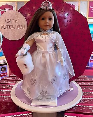 AMERICAN GIRL Fancy Frost Ball Gown Set, Exclusive 2016 LIMITED ED. - NEW