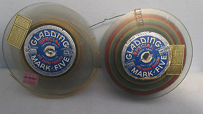 Vintage Gladding Mark Five Smooth Coat Lead Core Line Fishing 30LB