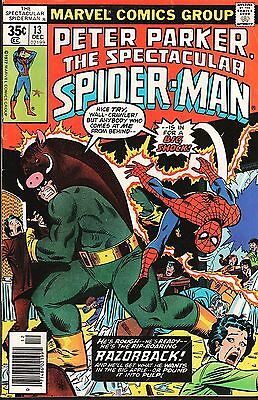 Peter Parker, The Spectacular Spider-Man No.13 / 1977 Bill Mantlo & Sal Buscema