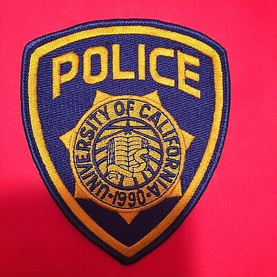 University Of California Police Shoulder Patch Old Used