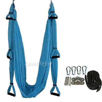 Decompression Inversion Therapy Yoga Swing Hammock Pilates Aerial Complete set