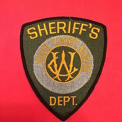 Ashoe County Nevada  Sheriff  Shoulder Patch   Used