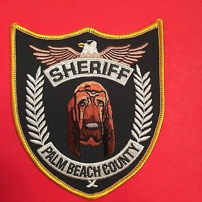 Palm Beach County Florida  Sheriff  K-9  Shoulder Patch