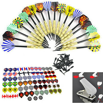 Xmas Gifts Copper Soft Tip Darts/Flights/Hole Puncher for Electronic Dartboard