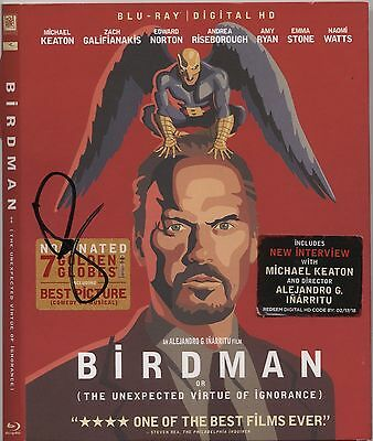 EMMA STONE AUTOGRAPHED SIGNED BIRDMAN DVD BLU RAY AUTHENTIC PHOTO PROOF Easy A