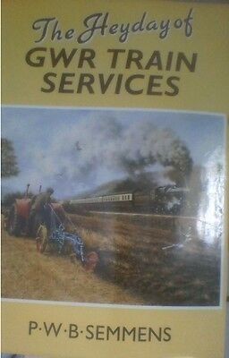 Heyday Of Great Western Railway Train Services - H/b  Photo Book