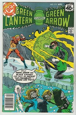 Green Lantern #115 strict NM- 9.2  High-Grade   1st Appearance - The Crumbler II