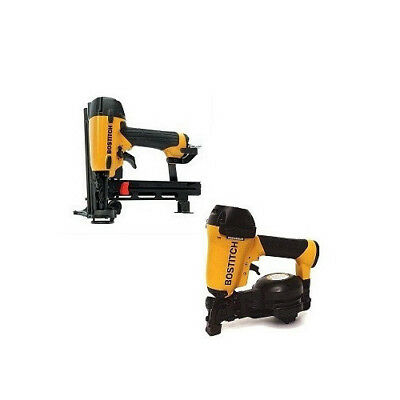 """Bostitch 1-3/4"""" Roofing Nailer and 18-Gauge Cap Stapler ROOFKIT2 New"""