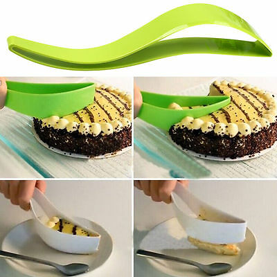 Cake Pie Slicer Sheet Guide Cutter Server Bread Knife Kitchen Tool Gadget Home