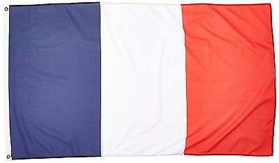 3ft x 5ft France Flag - Polyester - 3x5 French Flag Poly SHI FROM US