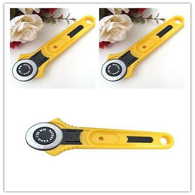 1pc 28mm Rotary Cutter Premium Quilters Sewing Fabric Leather Craft  Tool AZ
