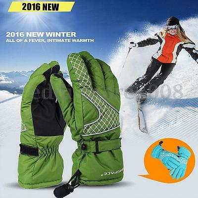 Electric Battery Power Winter Warmer Heated Gloves Bicycle Hunting Outdoor Sport