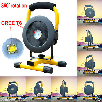 30W 2400LM T6 LED Floodlight Work Light Caravan Camping Taschenlamp Rechargeable