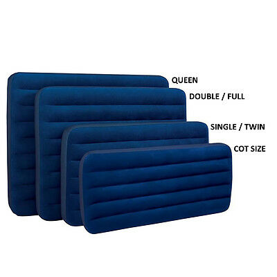 Intex Classic Downy Airbed for Home or Camping - Cot, Single, Double, Queen